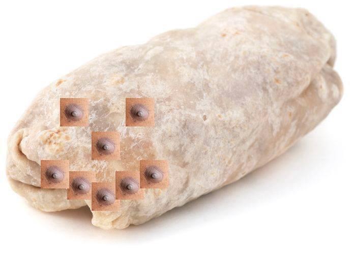 burrito nipple 1